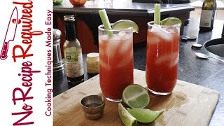 TV Mom Mother's Day Menu: Bluth's Bloody Mary - NoRecipeRequired.com