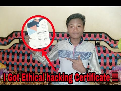 I Got ethical hacking certificate!!!👍