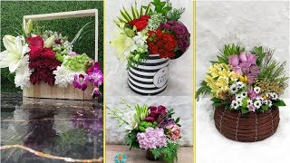 New flower arrangement best ideas Only photo  for fresh flower || only bouquet.