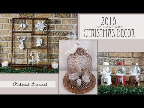 Christmas Dollar Tree Decor / Pinterest Inspired DIY