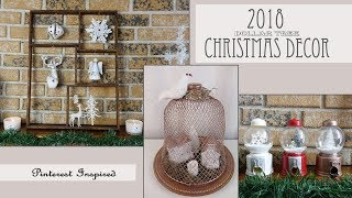 Christmas Dollar Tree Decor / Pinterest Inspired DIY