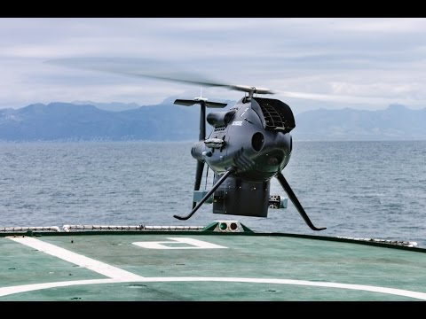Schiebel CAMCOPTER® S-100 UAS - South African Navy Trials