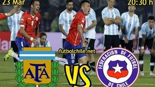 Argentina (1) vs Chile (0) - Clasificatorias Rusia 2018 - Previa & Partido Completo - 23/03/2017