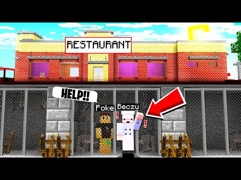 I Found A CHEAP Restaurant.. His EVIL PLAN Will Shock You! (Minecraft)
