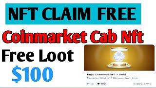 NFT CLAIM TRUST WALET |  BINANCE | Coinmarket cab | $100