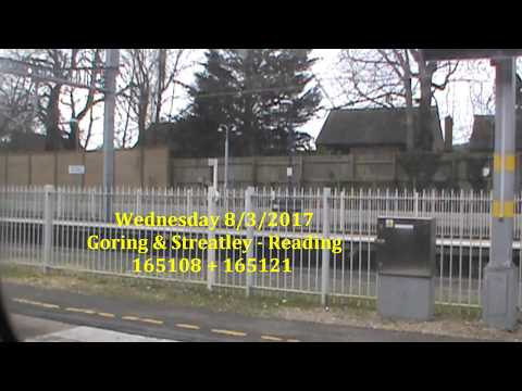 Goring And Streatley - Reading Wednesday 8th March 2017