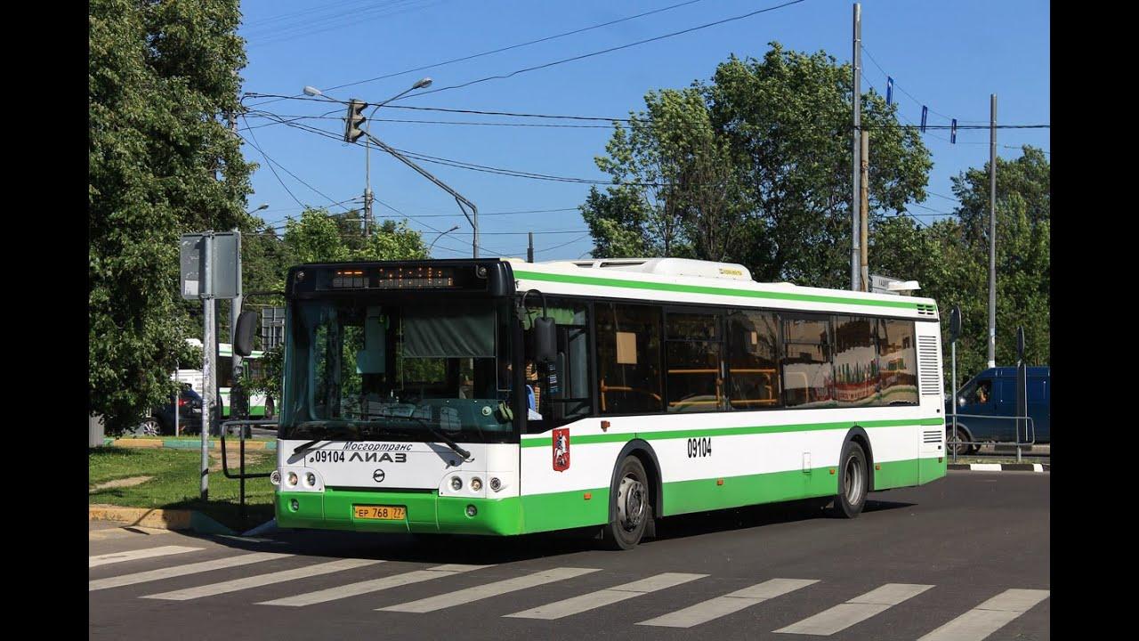 22 маршрут автобус москва: