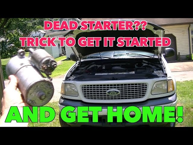 How to Start a Car with a Bad Starter? Apply These 4 Tricks