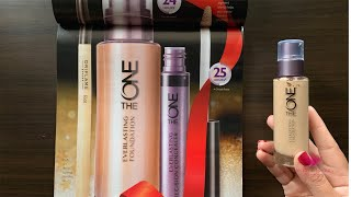 Oriflame The ONE Everlasting Foundation Review - By HealthAndBeautyStation