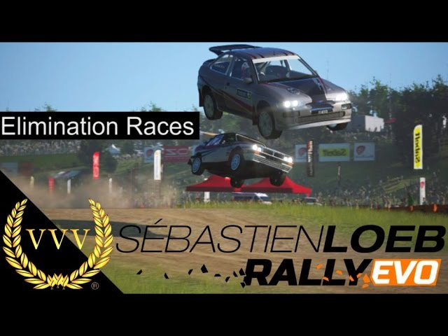 Sebastien Loeb Rally EVO Elimination Races
