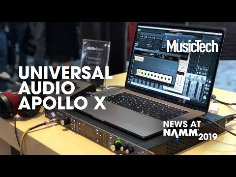 Six highlights of the Universal Audio Apollo x6 interface