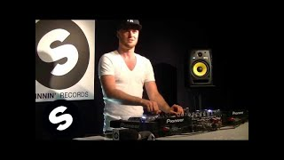 Watch the amazing ZIGGY perform a DJ set at Spinnin' Records Headqu...