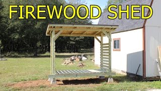 Firewood shed - Do it yourself