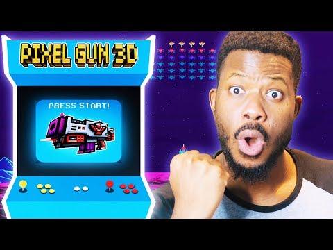 SO THIS WEAPON SHOOTS 3 DIRECTIONS! L Pixel Gun 3D