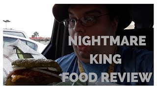 Burger King's Nightmare King Food review
