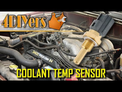 How to Replace the Coolant Temperature Sensor on a Toyota 3.4L V6