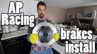 AP Racing Sprint brake kit installation - Subaru BRZ