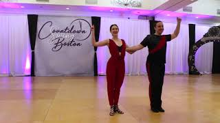 Leo Cook & Jessie Rosenberg - Rising Star - Countdown Swing Boston 2019-2020 - 2nd Place