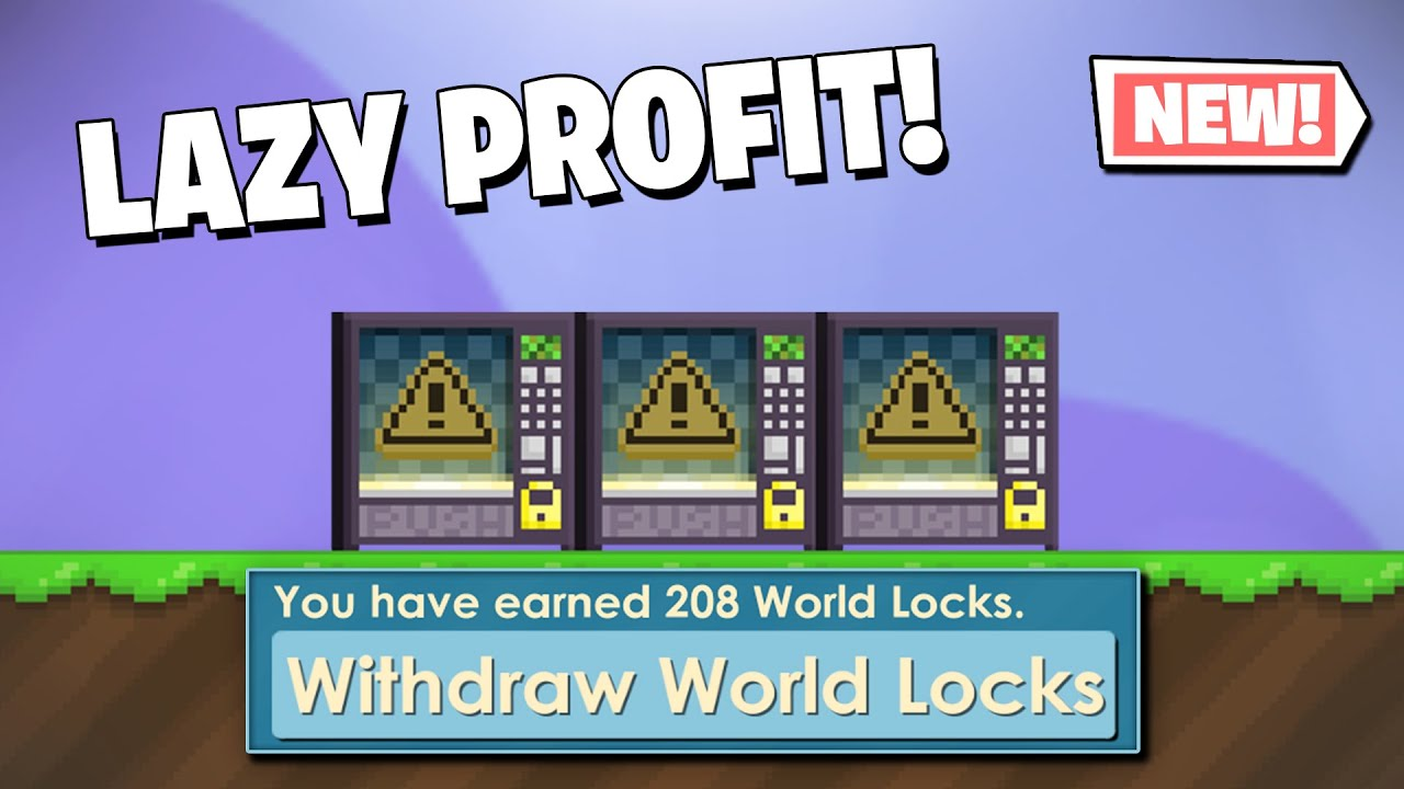 LAZY PROFIT in Growtopia! How to get RICH FAST without farming in 2021! (INSANE PROFIT)