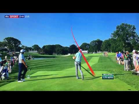 Golf TrackMan Tracer Compilation - The Northern Trust 2017..