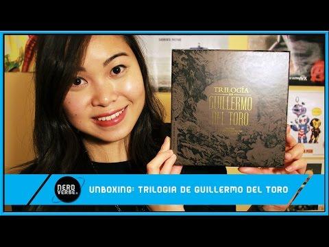 Unboxing: Trilogía de Guillermo del Toro (Blu-ray Edition)