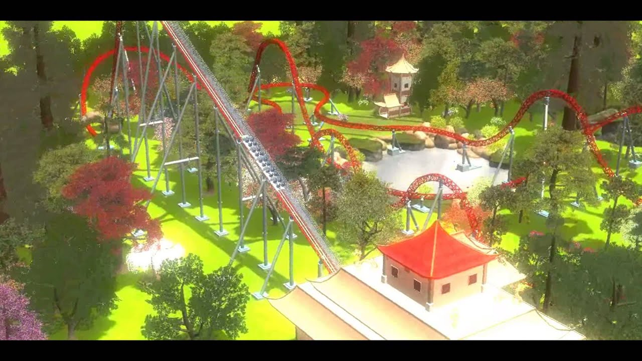 Longest Scariest Ride Roller Coaster Tycoon 3 - Year of Clean Water