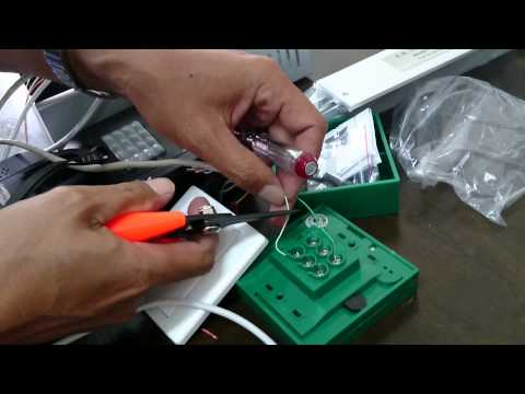 Door Access Control System - Part 3: Installing Emergency Break Glass & Override Keyswitch