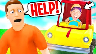 NOOB vs PRO vs HACKER In WHO'S YOUR DADDY *NEW UPDATE!* (SECRET GLITCHES UNLOCKED!)