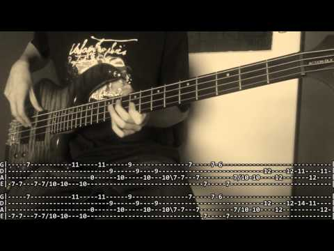 Explosions In the Sky  A Song for Our Fathers Bass  with TABS!