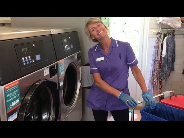 2018 MAG Laundry Equipment introduces the SU95 heavy duty washing machine and matching dryer