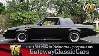 1987 Buick Grand National, Gateway Classic Cars Philadelphia - #126