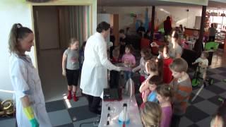 Крио-шоу или научное химическое шоу для детей