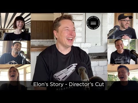 Third Row Tesla Podcast  Episode 7 - Elon Musk's Story - Director's Cut