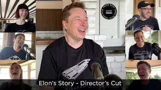 Third Row Tesla Podcast - Episode 7 - Elon Musk's Story - Director's Cut
