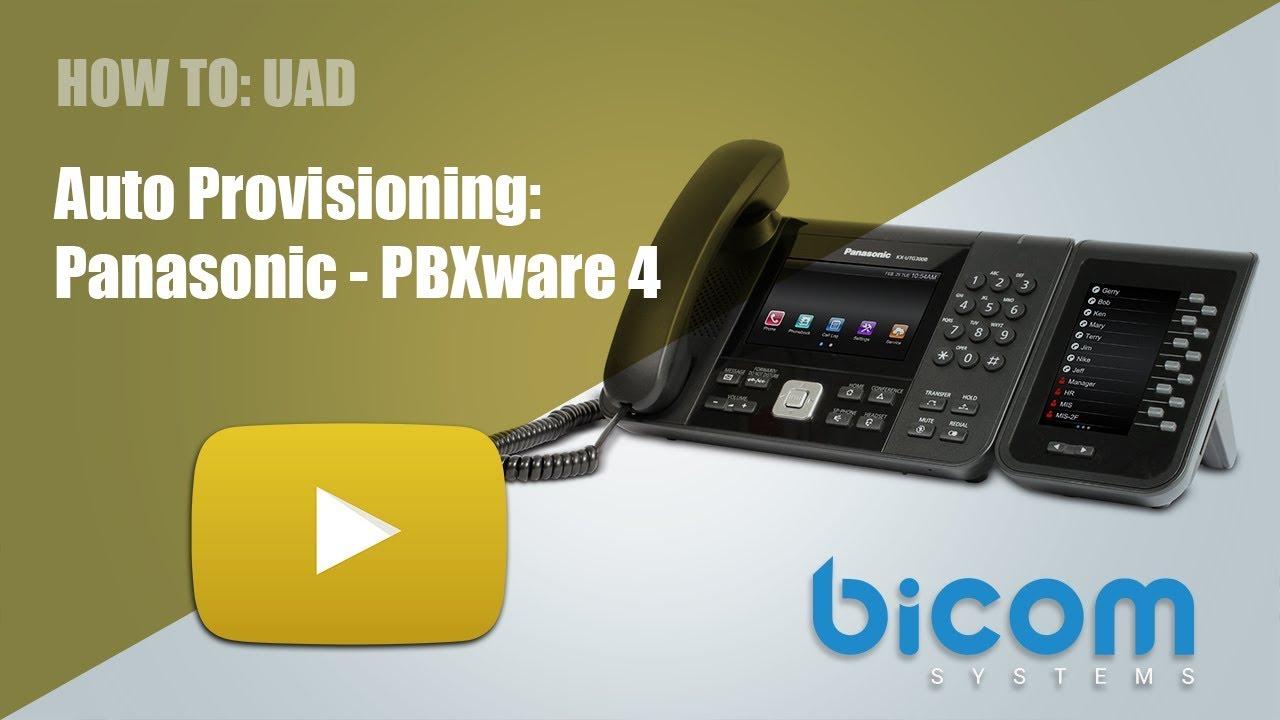 Panasonic KX-UTG300B - Bicom Systems Wiki