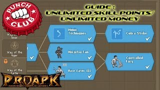 punch club guide get unlimited skill points unlimited money without time passing ios android pc