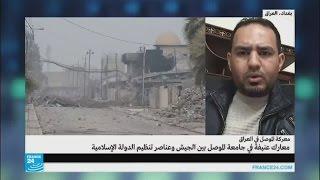 القوات العراقية تسيطر على حي الجماسة ومنطقة النبي يونس في الموصل