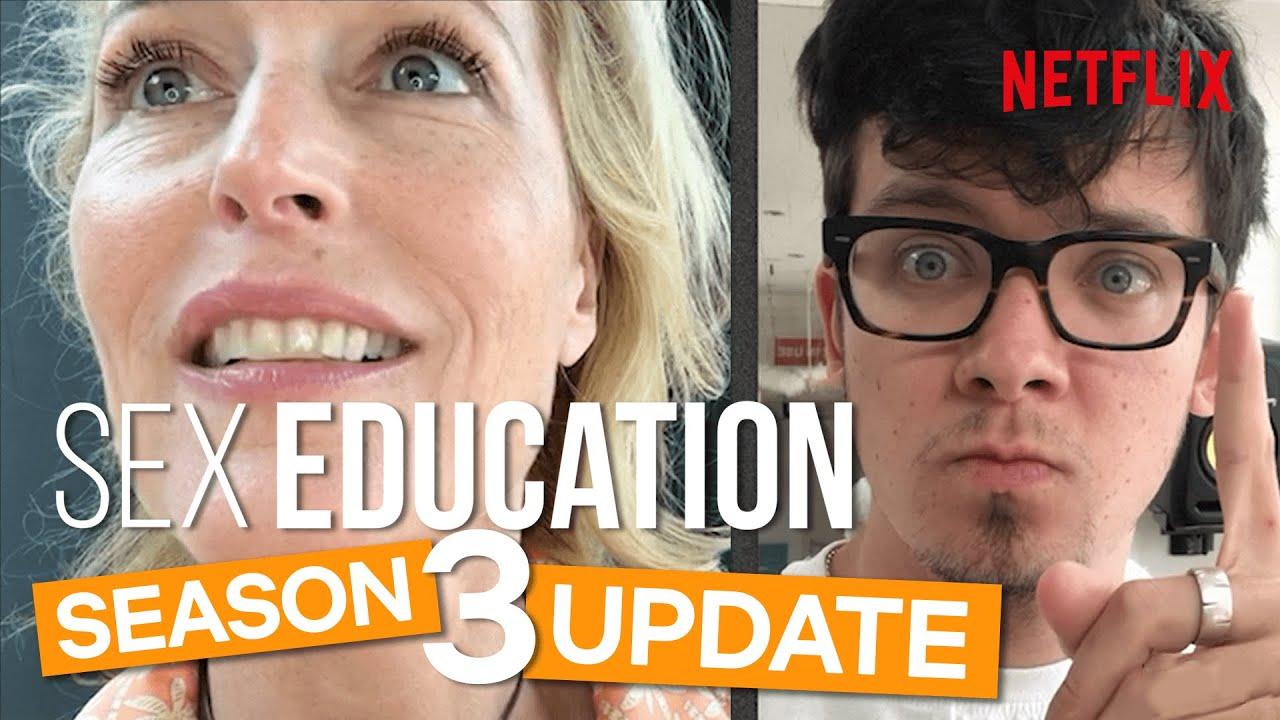 Sex Education Season 3 News - The Cast Head Back To School