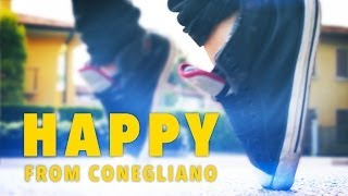 "We are happy from Conegliano ""Treviso"" Pharrell Williams"
