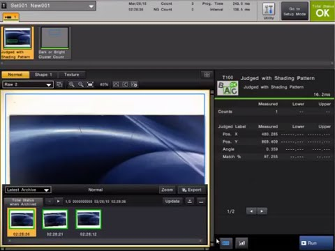 CV-X Machine Vision System: Import/Export Files Using a SD Card