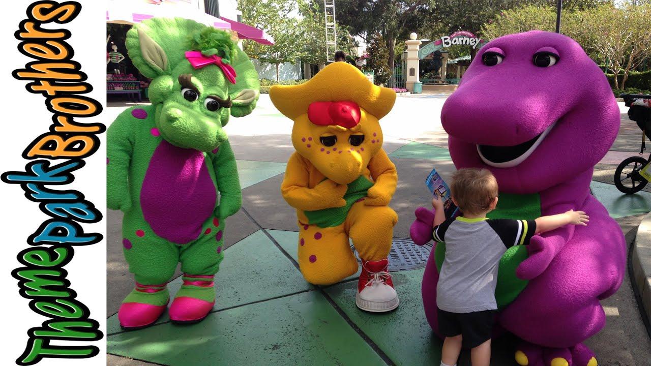 Barney At Universal Studios Orlando Youtube