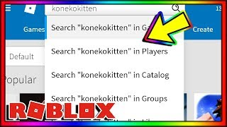i searched MYSELF on roblox... (bad idea)