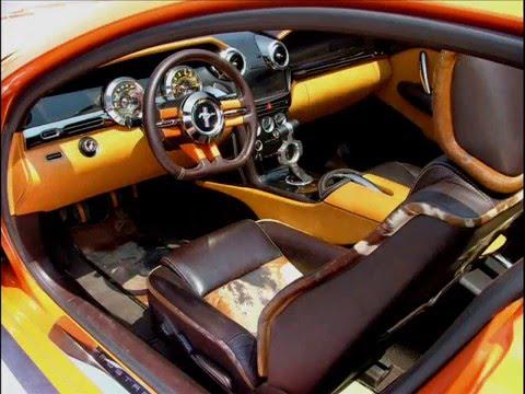 Ford Mustang Giugiaro Concept - YouTube