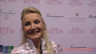 Videointervista a Barbara Bouchet al Premio Afrodite 2018 su SpettacoloMania.it