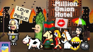 Million Onion Hotel: iOS iPhone Gameplay Walkthrough (by Onion Games) screenshot 5