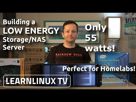 Building a Low Energy Storage Server for your Office/Homelab