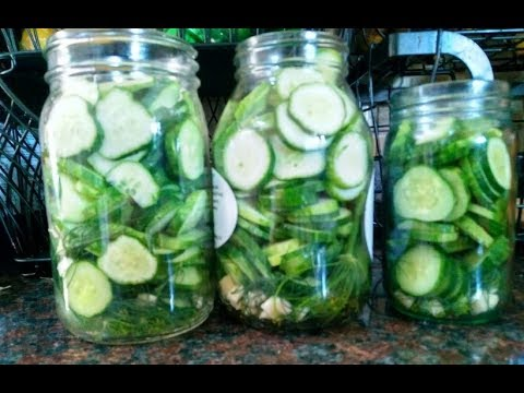 Easy dill pickles for canning