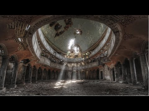 Abandoned  17th century chapel in poland - The Oval Church