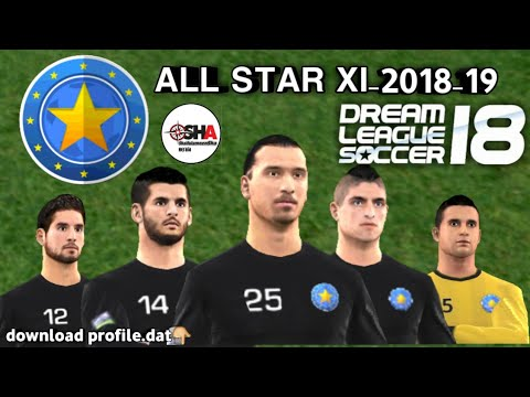All STAR XI official full team in Dream League Soccer 2018 download now⚽