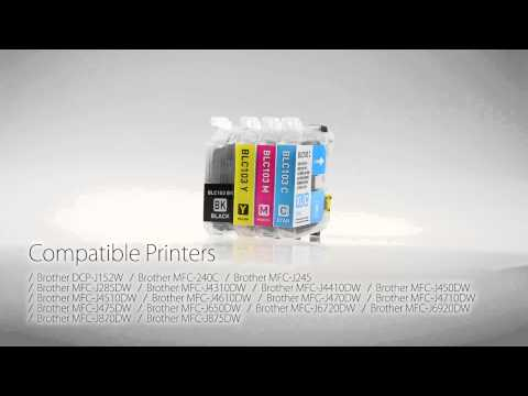 Brother LC103BK Compatible Ink Cartridge High Yield